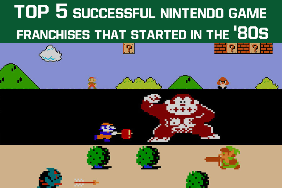 Top 5 Successful Nintendo Game Franchises That Started in the '80s